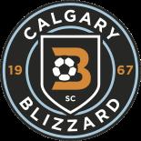 Calgary Blizzard Soccer Club Logo