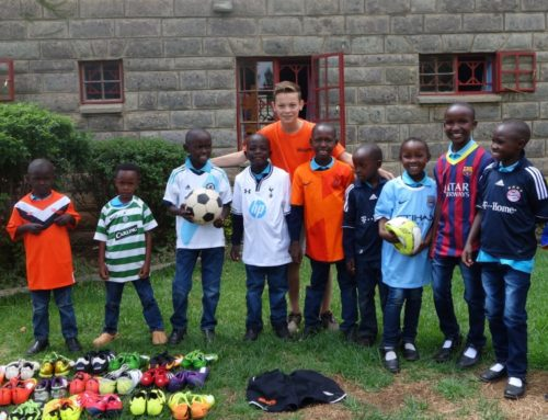 Blizzard Azzurri collects gear for orphanage in Kenya