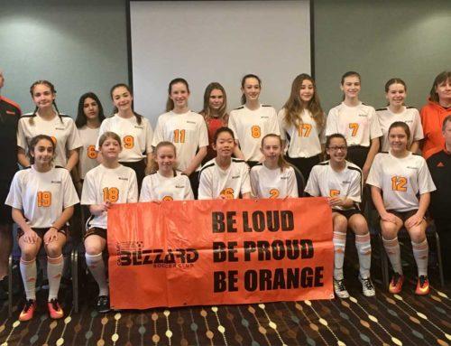 Blizzard Alliance 04 Girls win gold