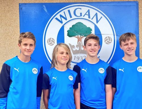 Four SC04 Boys invited to train with Wigan Athletic FC